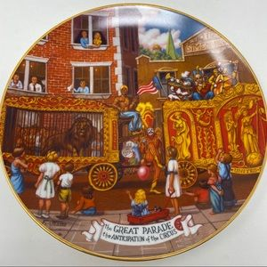 Ringling Bros. and Barnum & Bailey Circus Plate